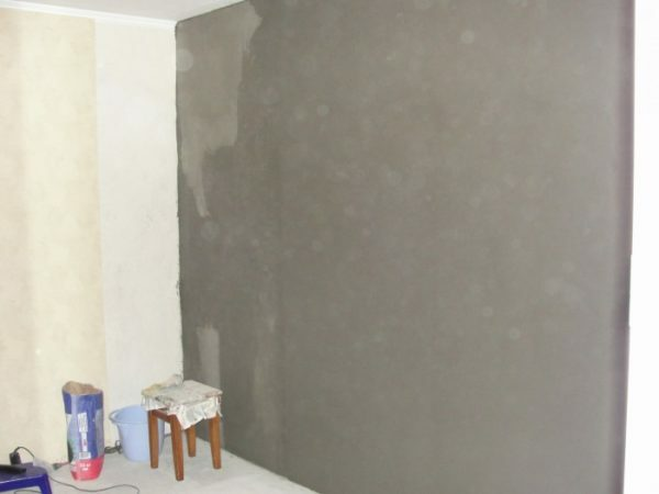 Plaster can quickly align all mineral surfaces