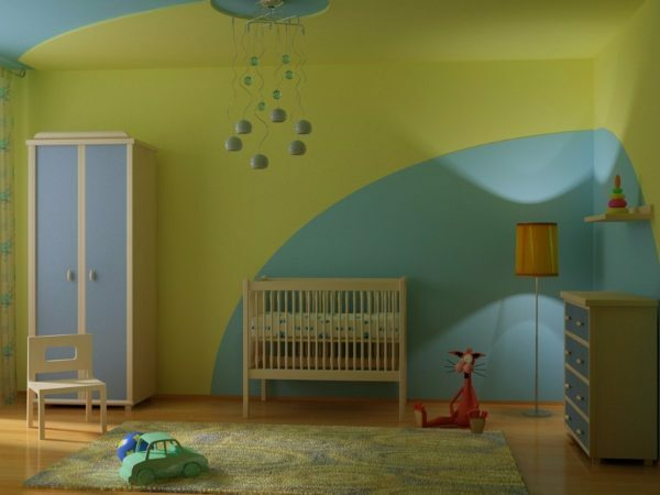Water-based coatings - a good solution for children's rooms
