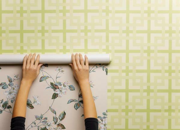 Self-adhesive wallpaper: adhesives for walls and furniture, film for kitchen, whether it is possible to glue on wallpaper, photo, how to glue under brick