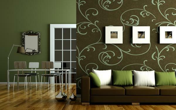 Non-woven wallpaper does not require glue