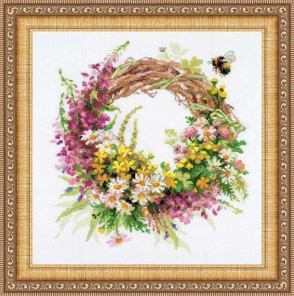 Ready-made embroidery kits have everything you need to create a beautiful piece