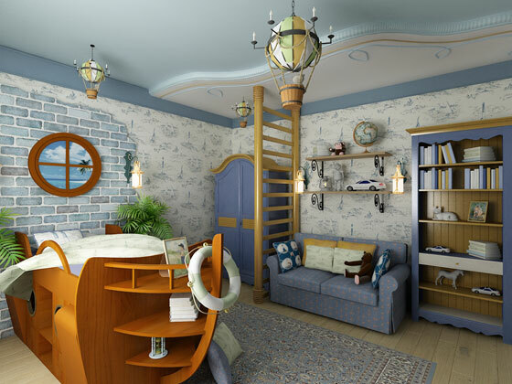 Options for children's room design