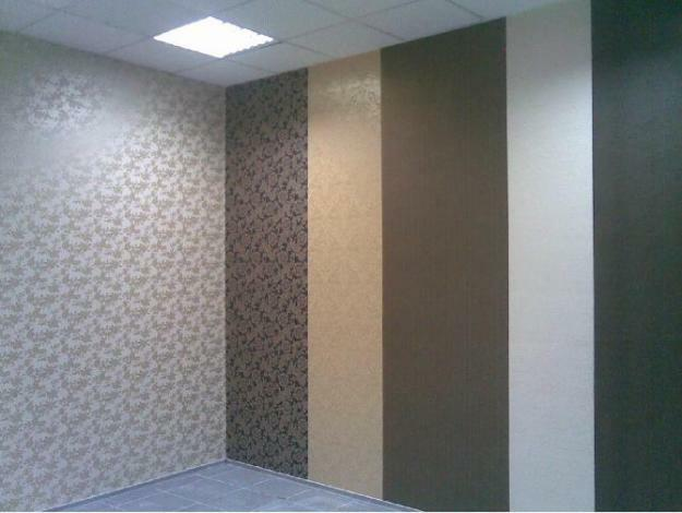 Wallpapering: video, gluing in the corners, walls pasting