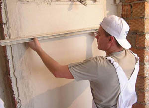 Repairing plaster walls: where to start, school, seal cracked wall covering