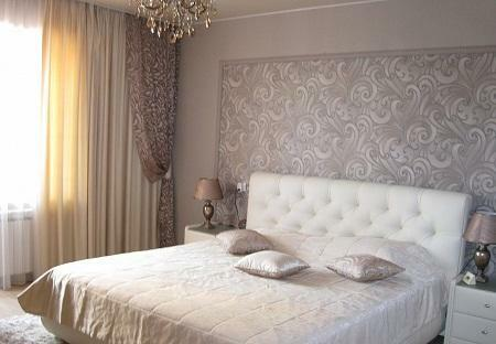 Thanks to curtains you can give the bedroom a cosiness and comfort