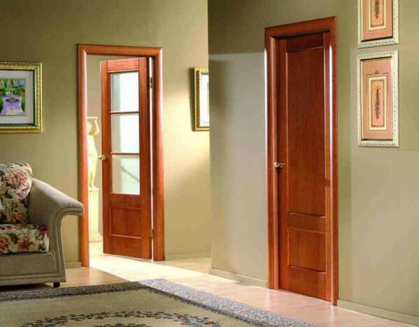 Photo of interior doors