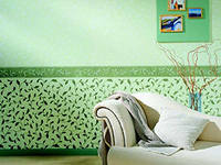 it is fashionable to hang wallpaper