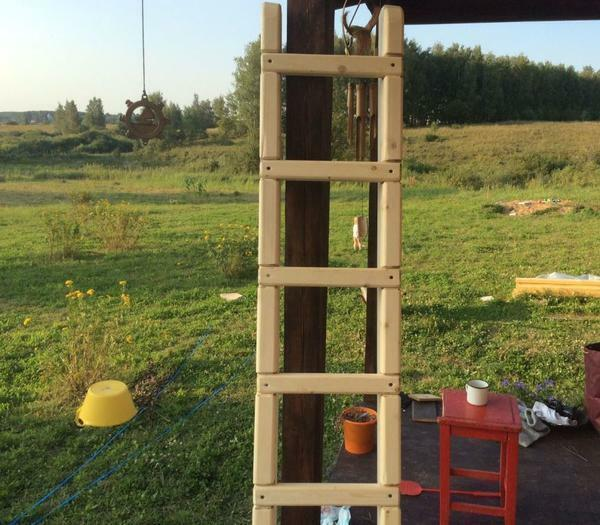 Ladder ladder: the length and angle of the step, the instruction to the vertical, how to make your own hands, 13 m to the wall, the device and types