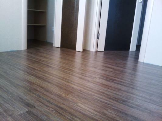 Laminate is a great way to make the floor practical and beautiful
