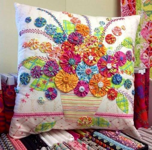 Make the interior bright and unusual to help you patchwork