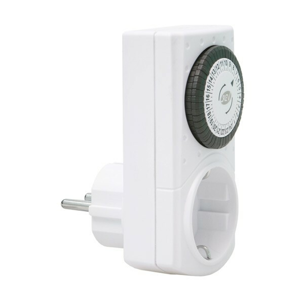 Socket with timer daily «REV RITTER 67074 8""