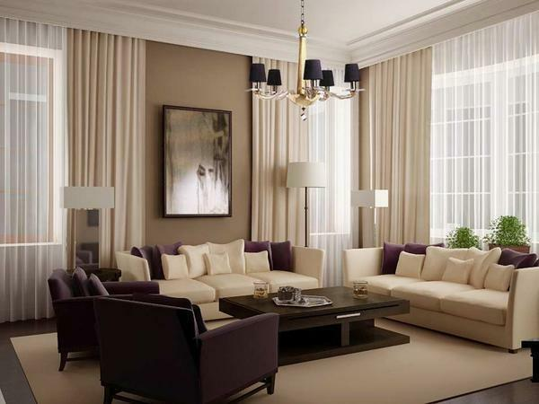 Stylish living rooms: photo halls, design from the manufacturer, choose an interior for an apartment and a house, repair