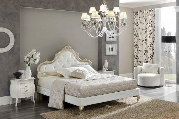 In order for a white bedroom set to look good in the room, you need to make the walls of the room a few tones darker