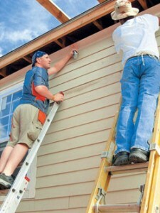 Finishing siding with their own hands