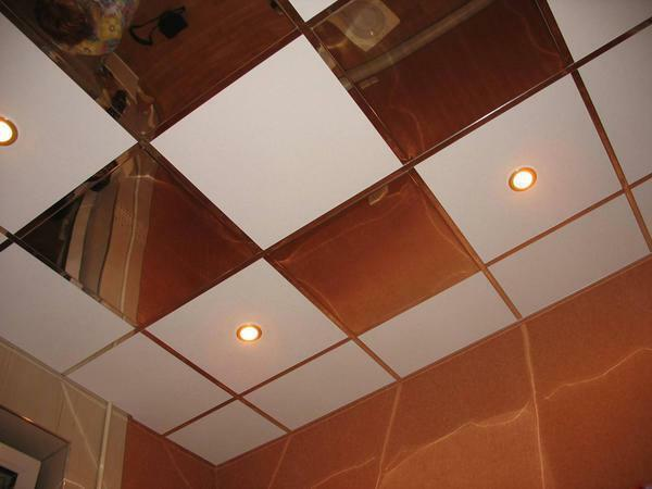 Cassette ceilings have a high water resistance, so they are ideal for rooms with a high level of humidity