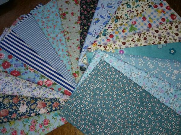 Fabrics for quilting should not shed