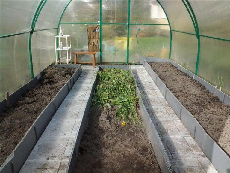 The beds in the greenhouse are 3 by 6: the width of the meter and the location of 6x3, the photo is made, how many 3x4 layout and layout