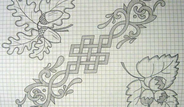 Diagrams of paintings for cross-stitching: download for free, Gapchinsky's flowers, lovers, rider of Kramskoy