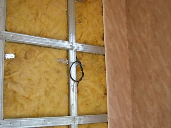 Use for insulation can be different material, the main thing - to use it correctly