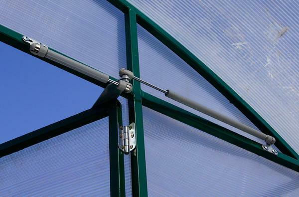Automatic ventilation of greenhouses has advantages and disadvantages