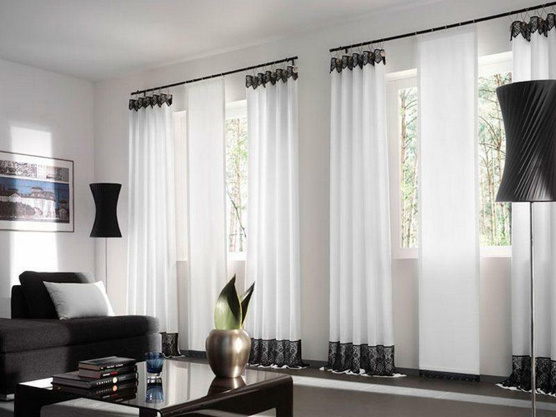 Fashionable curtains: stylish for the living room, photo novelties, velvet and velor, portraits Elite in the modern interior