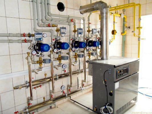 Popular today is steam heating for a private house