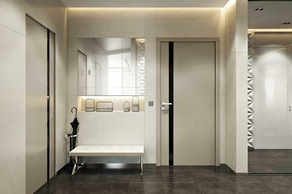 Choosing materials for finishing the hallway, you should choose the most practical and wear-resistant options