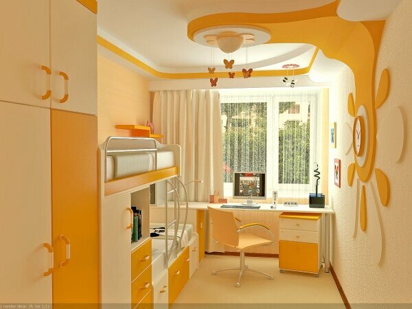 Design a child's room for girls