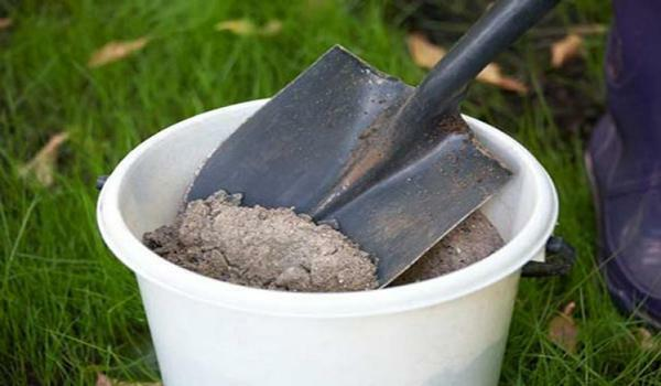 Ash for soil treatment can be used in its pure form