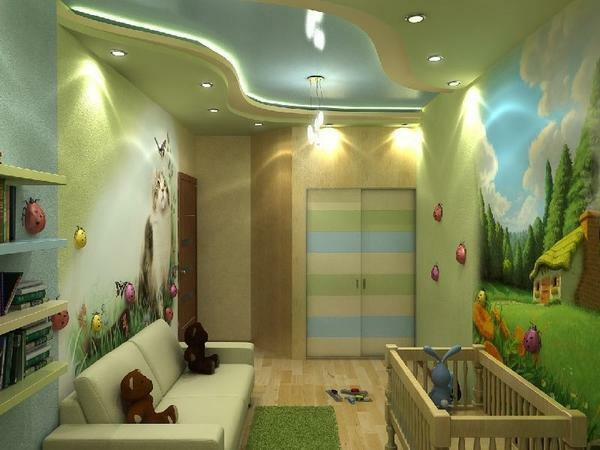 You need to create a room in which the child will like