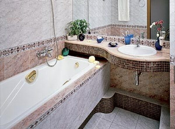 Design bathroom 3 square meters: the interior and its decoration