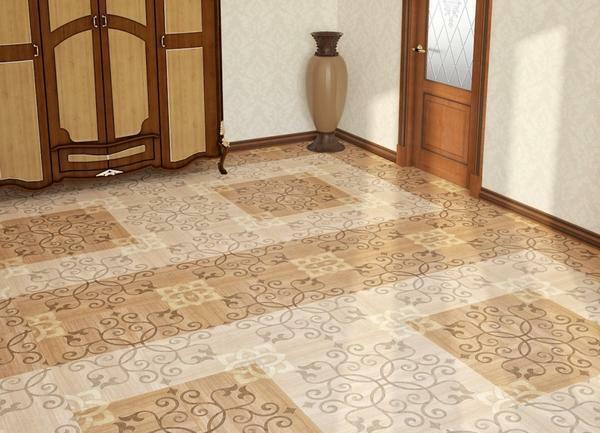 Tile selection should be so that it harmoniously complements the interior corridor and hallway
