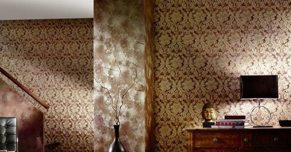 Wallpaper companions photo examples: in the interior, how to glue for the hall and bedrooms, for the kitchen and nursery, for the hallway