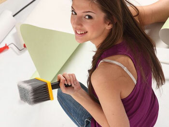 how to hang wallpaper on non-woven backing