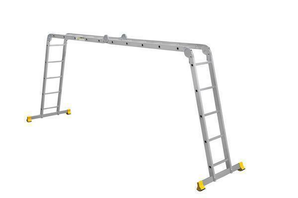 Working with the ladder Eiffel-Classic is easy, with which even novices can easily cope