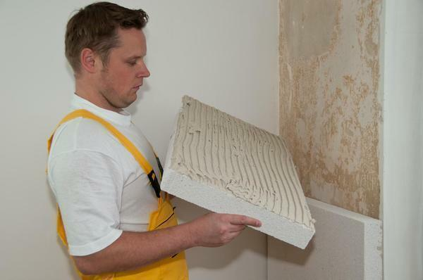 Polyfoam - inexpensive and practical material for additional sound insulation and wall insulation in the bedroom