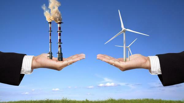 Thanks to unconventional energy sources, it is possible to reduce the harm people cause to nature