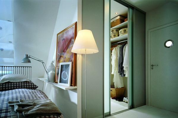 Dressing room in a niche: in a one-room apartment, from plasterboard, how to make one's own, photo how to remake