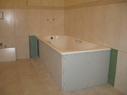 Transform the bathroom and make it comfortable with a drywall box