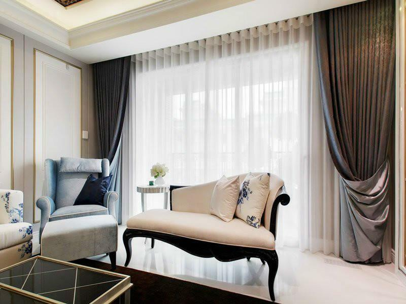 Curtains design for the living room: photo windows, trendy straight, design directions