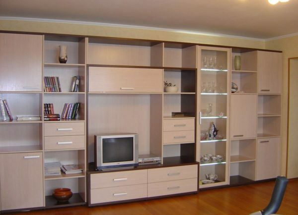 In closets for living room and the hall is always selected according to the size of the room