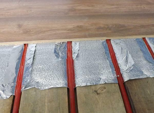 Warm floor under the laminate: electric and infrared, heated from water heating, laying and whether it is possible to put