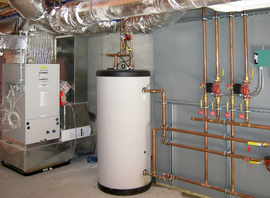 Connecting an indirect heating boiler helps solve many problems with hot water supply