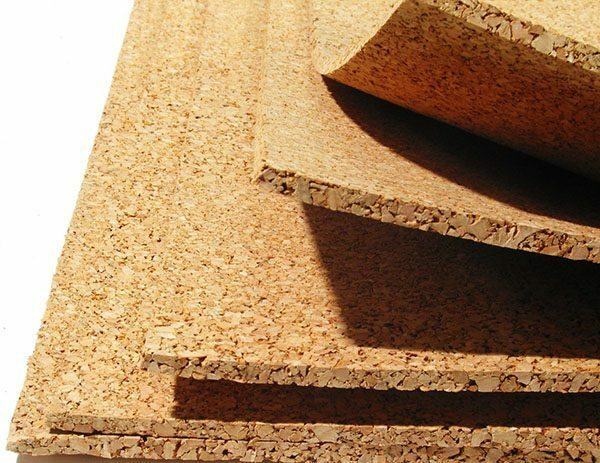 Cork subbase 3-4 mm thick - the best solution for linoleum ratio value and insulation characteristics