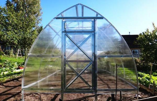Greenhouses of domestic producers are made taking into account our climate