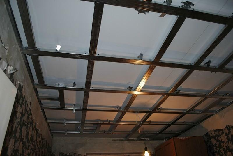 Plastic ceiling will be a durable and practical design