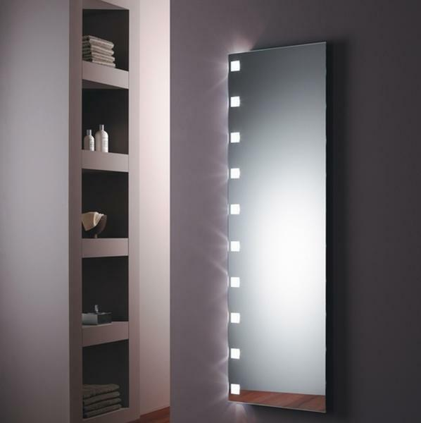 The original illumination in the mirror will serve as an additional light source