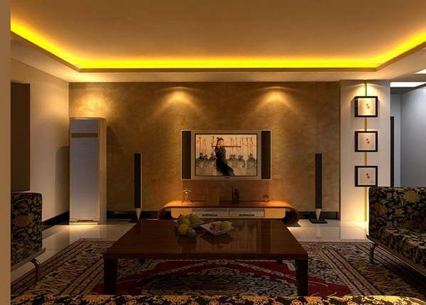 With the help of lighting for a false ceiling, you can transform the interior beyond recognition