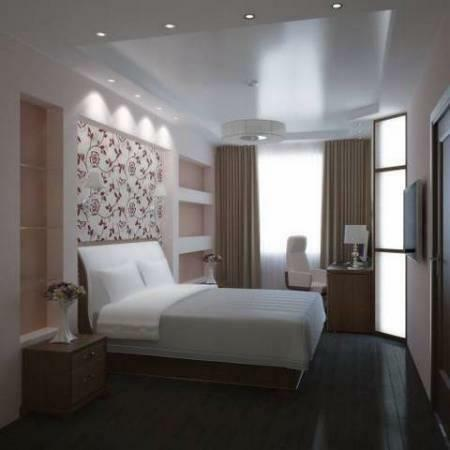 Increasingly, a modern bedroom is made in a classical style, as it is an excellent option to make a room beautiful and comfortable