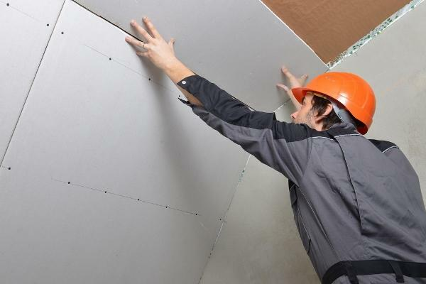 Drywall is a fairly popular material, which is often used for finishing walls and ceilings